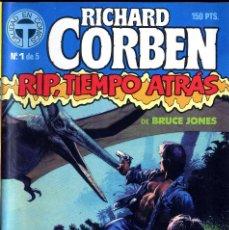 Cómics: RIP TIEMPO TRAS CORBEN/ BRUCE JONES VARIOS PREMIOS HAXTUR (5 NºS) TOUTAIN 1988 BIL ISA. Lote 114461539