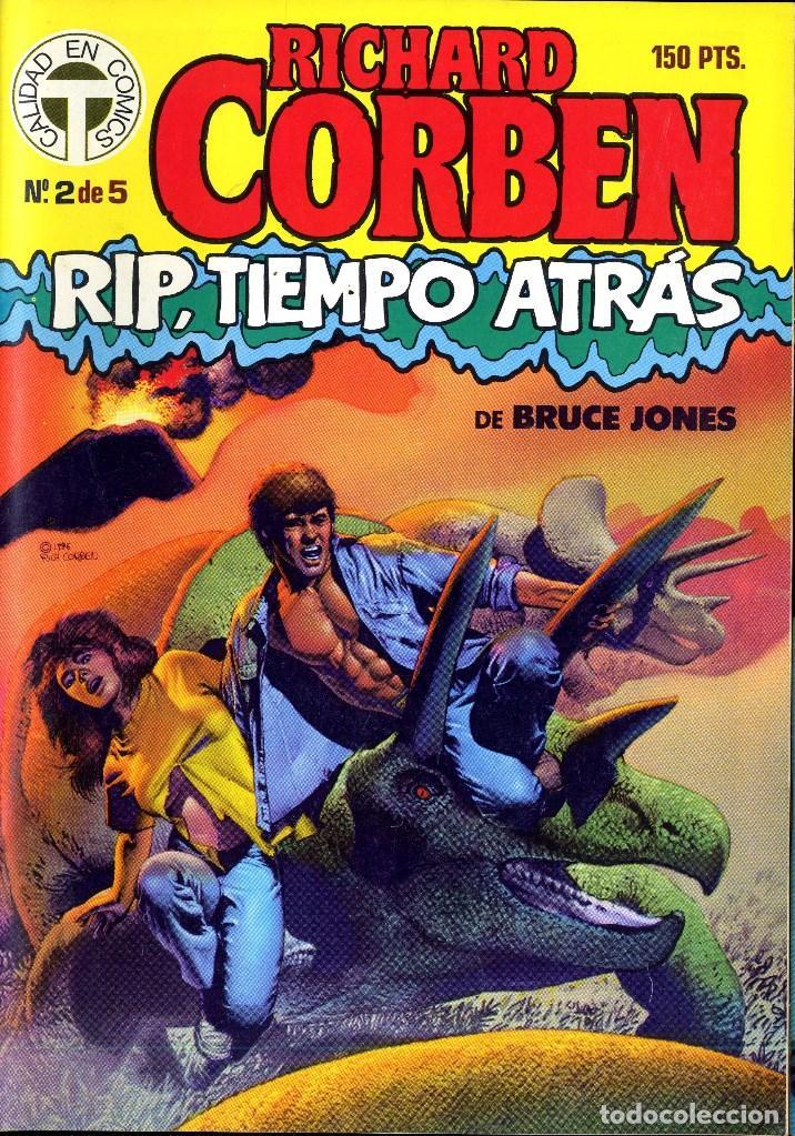 Cómics: RIP TIEMPO TRAS CORBEN/ BRUCE JONES VARIOS PREMIOS HAXTUR (5 NºS) TOUTAIN 1988 BIL ISA - Foto 2 - 114461539