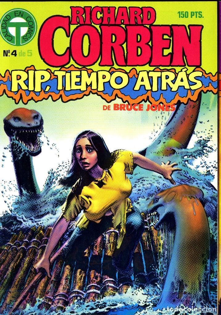 Cómics: RIP TIEMPO TRAS CORBEN/ BRUCE JONES VARIOS PREMIOS HAXTUR (5 NºS) TOUTAIN 1988 BIL ISA - Foto 3 - 114461539