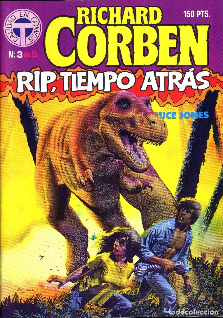 Cómics: RIP TIEMPO TRAS CORBEN/ BRUCE JONES VARIOS PREMIOS HAXTUR (5 NºS) TOUTAIN 1988 BIL ISA - Foto 4 - 114461539
