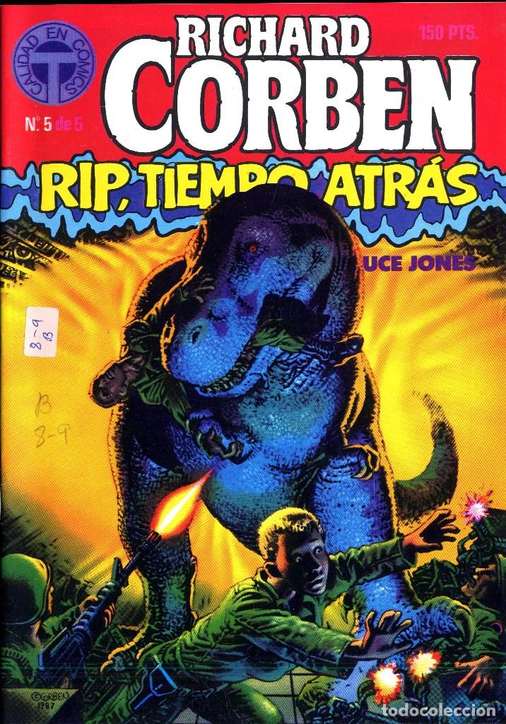 Cómics: RIP TIEMPO TRAS CORBEN/ BRUCE JONES VARIOS PREMIOS HAXTUR (5 NºS) TOUTAIN 1988 BIL ISA - Foto 5 - 114461539