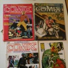 Cómics: COMIX INTERNACIONAL 27, 35, 48 + DELTA 99 Nº 11. Lote 114641335