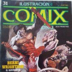 Cómics: COMIX INTERNACIONAL, NºS.31, 33, 34, 35, 36, , TOUTAIN EDITOR. Lote 114893323