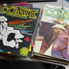 Cómics: COMIX INTERNACIONAL / LOTE CON 24 NÚMEROS / TOUTAIN. Lote 115168967