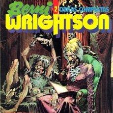 Cómics: BERNI WRIGHTSON OBRAS COMPLETAS Nº 2 - TOUTAIN - COMO NUEVO - C13. Lote 115334791