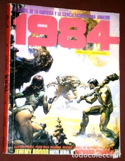 ANTOLOGÍA 1984 EXTRA Nº 58-60 DE TOUTAIN EDITOR EN BARCELONA 1983 (Tebeos y Comics - Toutain - 1984)