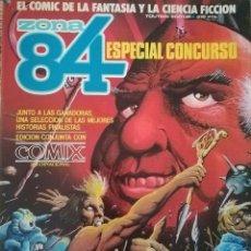 Cómics: ZONA 84 ESPECIAL CONCURSO. Lote 115418183