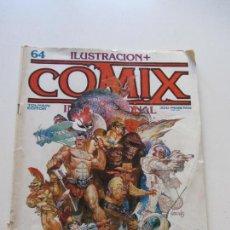 Cómics: COMIX INTERNACIONAL Nº 64. TOUTAIN 1986. CARLOS GIMÉNEZ, M. SCHULTHEISS, MIGUELANXO PRADO E2. Lote 115477663