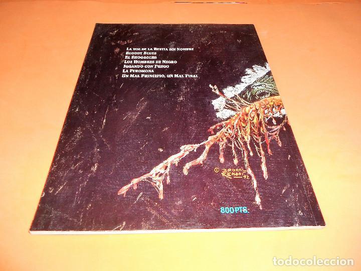 Cómics: EL OTRO NECRONOMICÓN (Antonio Segura / Brocal Remohí) 1992. PRÓLOGO ALBERTO BRECCIA. IMPECABLE - Foto 2 - 115561283