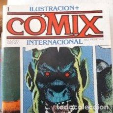 Cómics: COMIX INTERNACIONAL, NºS 1, 2. TOUTAIN. Lote 115566727