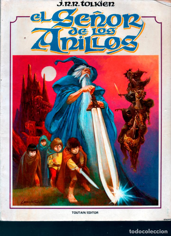 EL SEÑOR DE LOS ANILLOS TOUTAIN. J.R.R. TOLKIEN. ALBUM 1. TOUTAIN. (Tebeos y Comics - Toutain - Otros)