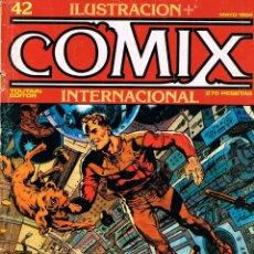 Cómics: ILUSTRACION + COMIX Nº 42. 82 PÁGINAS. COLOR Y BLANCO Y NEGRO. Lote 116596887