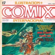Cómics: ILUSTRACIÓN + COMIX INTERNACIONAL, Nº 17, 90 PÁGINAS BLANCO Y NEGRO Y COLOR.... Lote 116596919