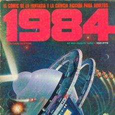 Cómics: REVISTA 1984 Nº 40 COMIC DE FANTASIA Y CIENCIA FICCION, 82 PÁGINAS, BLANCO Y NEGRO Y COLOR. Lote 116597379