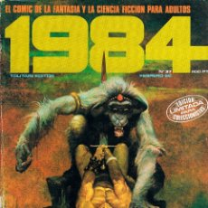 Cómics: REVISTA 1984 Nº 37 COMIC DE FANTASIA Y CIENCIA FICCION, 82 PÁGINAS, BLANCO Y NEGRO Y COLOR. Lote 116597467