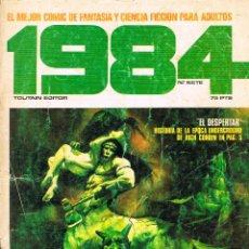 Cómics: REVISTA 1984 Nº 7 COMIC DE FANTASIA Y CIENCIA FICCION, 58 PÁGINAS, BLANCO Y NEGRO. Lote 116597651