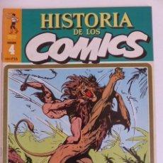Cómics: HISTORIA DEL COMIC TOUTAIN / JAVIER COMA - COMPLETA - STOCK LIBRERIA - IMPECABLE ESTADO. Lote 116696535