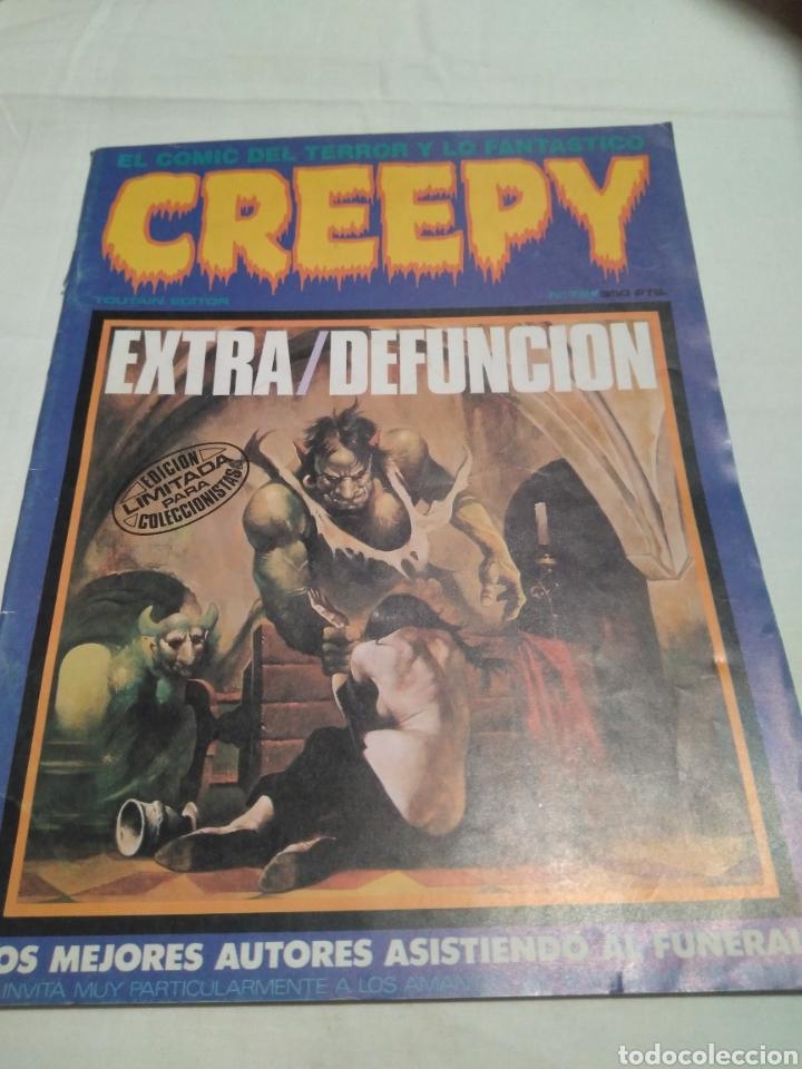 CREEPY N 79 EXTRA- DEFUNCIÓN. ÚLTIMO DE LA COLECCIÓN. AÑO 1985. EDICIÓN LIMITADA COLECCIONISTAS (Tebeos y Comics - Toutain - Creepy)
