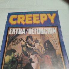Cómics: CREEPY N 79 EXTRA- DEFUNCIÓN. ÚLTIMO DE LA COLECCIÓN. AÑO 1985. EDICIÓN LIMITADA COLECCIONISTAS. Lote 116790759