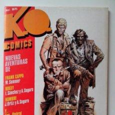 Cómics: EDC. TOUTAIN Nº 1 K.O. COMICS EN MUY BUEN ESTADO. Lote 116855103