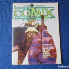 Cómics: COMIX INTERNACIONAL Nº 4 - TOUTAIN EDITOR 1980. Lote 117011671