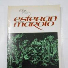 Cómics: CUANDO EL COMIC ES ARTE. ESTEBAN MAROTO. TOUTAIN EDITOR. TDK340. Lote 117613783
