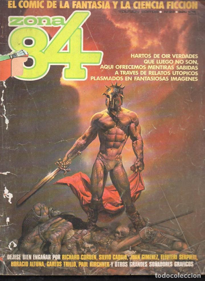 ZONA 84 Nº 23 (Tebeos y Comics - Toutain - Zona 84)