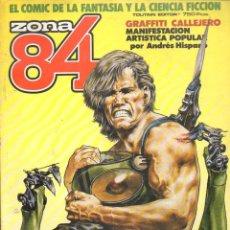 Cómics: ZONA 84 Nº 35-36-37 RETAPADOS. Lote 117785671
