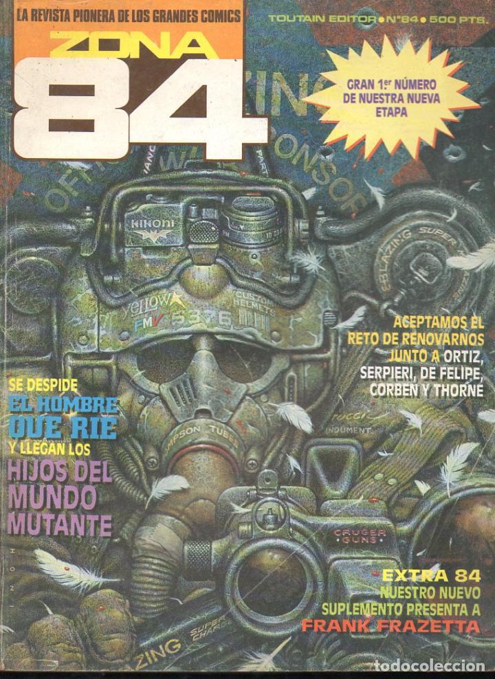ZONA 84 Nº 84 (Tebeos y Comics - Toutain - Zona 84)