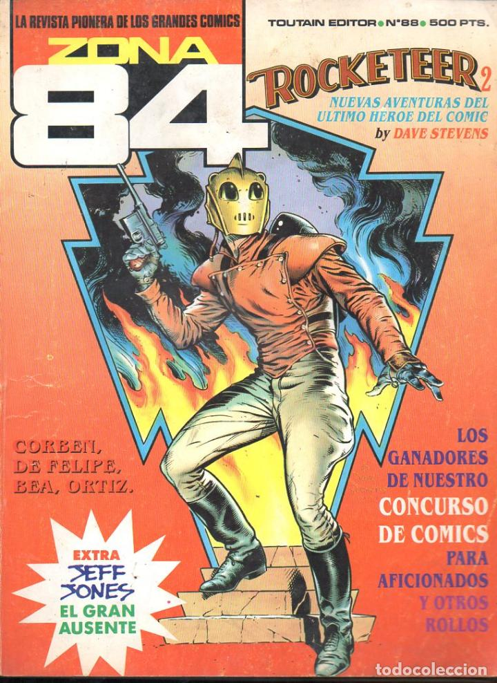 ZONA 84 Nº 88 (Tebeos y Comics - Toutain - Zona 84)