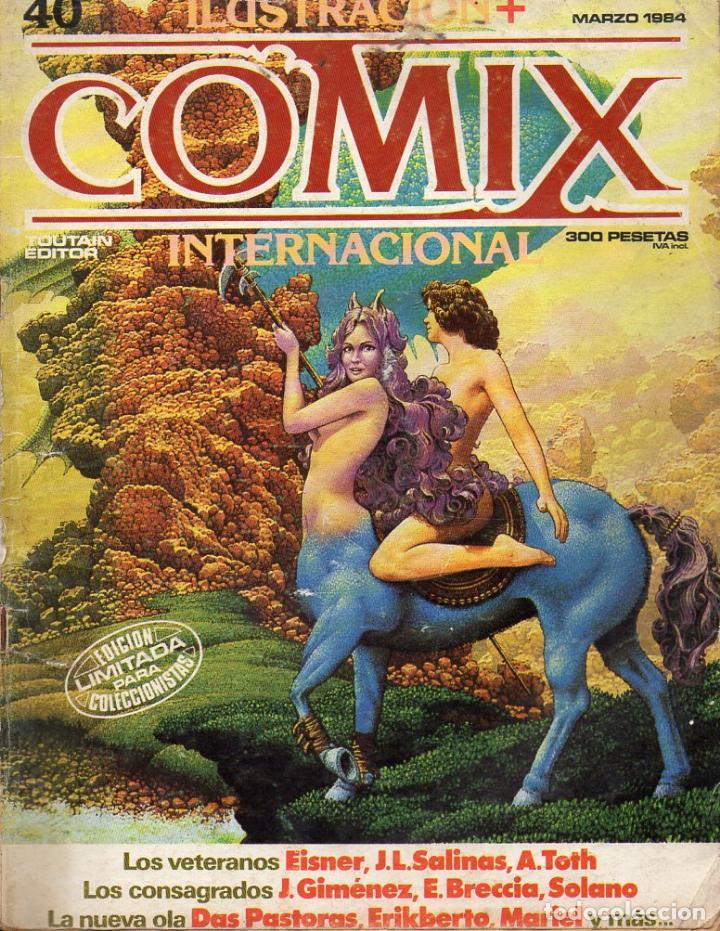 COMIX INTERNACIONAL Nº 40 (Tebeos y Comics - Toutain - Comix Internacional)