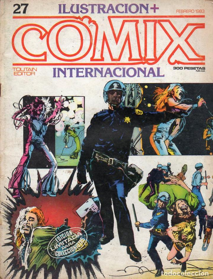 COMIX INTERNACIONAL Nº 27 (Tebeos y Comics - Toutain - Comix Internacional)