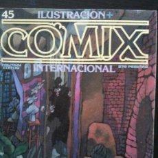Cómics: ILUSTRACION +COMIX INTERNACIONAL Nº45. Lote 119200243