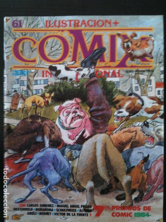 ILUSTRACION +COMIX INTERNACIONAL Nº61 (Tebeos y Comics - Toutain - Comix Internacional)