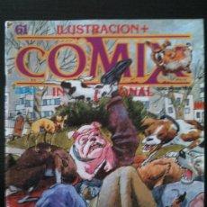 Cómics: ILUSTRACION +COMIX INTERNACIONAL Nº61. Lote 119200383