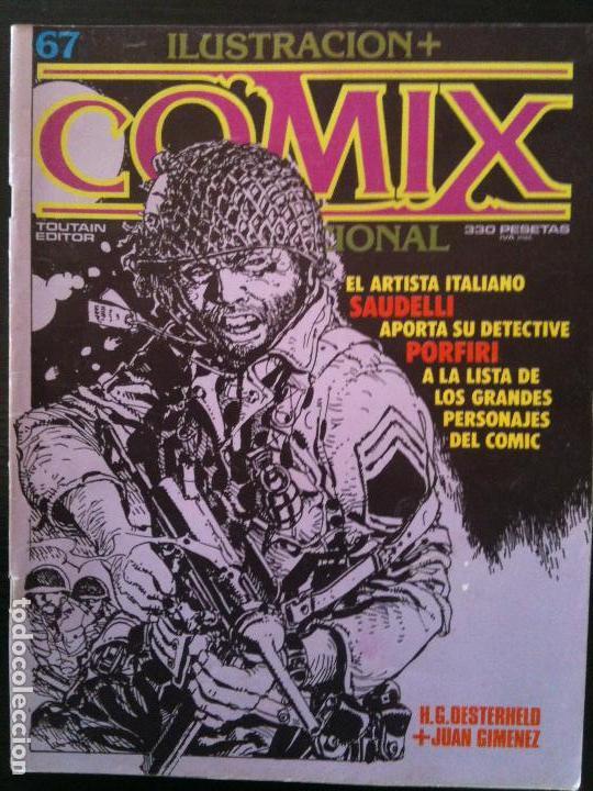 ILUSTRACION +COMIX INTERNACIONAL Nº67 (Tebeos y Comics - Toutain - Comix Internacional)