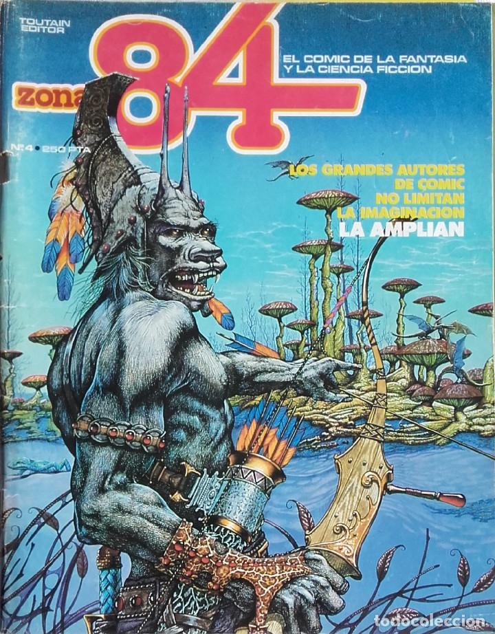 ZONA 84 Nº 2 (Tebeos y Comics - Toutain - Zona 84)