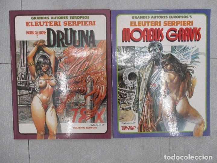 MORBUS GRAVIS COLECCION COMPLETA - 2 TOMOS - ELEUTERI SERPIERI -.TOUTAIN (Tebeos y Comics - Toutain - Álbumes)