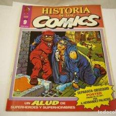 Cómics: HISTORIA DE LOS COMICS 9. Lote 121323399