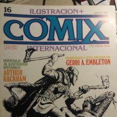 Cómics: COMIX INTERNACIONAL Nº 16,17 Y 18, ALTUNA, KALUTA, SPIRIT, . Lote 121600531