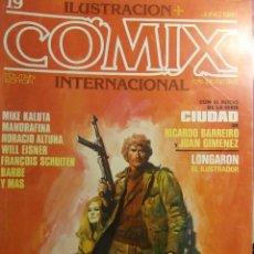 Cómics: COMIX INTERNACIONAL Nº 19,, ALTUNA, KALUTA, SPIRIT, . Lote 121600763