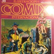 Cómics: COMIX INTERNACIONAL Nº 38, 39, 40, GIMENEZ, MANARA, SPIRIT, . Lote 121601371