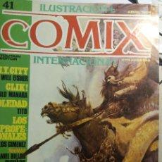 Cómics: COMIX INTERNACIONAL Nº 41, 42, 43, GIMENEZ, MANARA, SPIRIT, . Lote 121601627