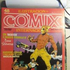 Cómics: COMIX INTERNACIONAL Nº 48, 49, 50 Nº EXTRA, EISNER, ROCKETEER, BRECCIA . Lote 121602411