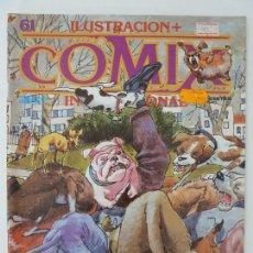 Cómics: COMIX INTERNACIONAL. Nº 61. Lote 121792903