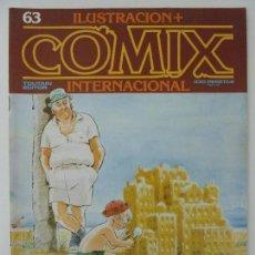 Cómics: COMIX INTERNACIONAL. Nº 63. Lote 121793307