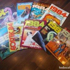 Cómics: 1984 VARIOS COMICS / ALMANAQUES (SR). Lote 121869443