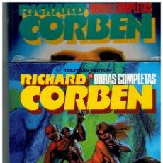 Cómics: RICHARD CORBEN -OBRAS COMPLETAS NºS.-3 Y 11- LOS DOS SIN ABRIR.. Lote 156565985