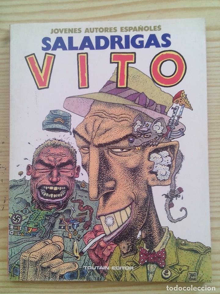 SALADRIGAS VITO - JOVENES AUTORES ESPAÑOLES - TOUTAIN EDITOR (Tebeos y Comics - Toutain - Otros)