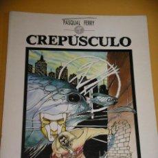Fumetti: CREPÚSCULO, PASCUAL FERRY, ED. TOUTAIN, AÑO 1989, ERCOM. Lote 122820615